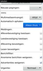 BlackBerry 9860 Torch - MMS - probleem met ontvangen - Stap 6