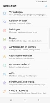 Samsung Galaxy S8 Plus (G955) - WiFi - Verbinden met een netwerk - Stap 4