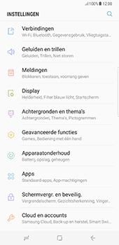 Samsung Galaxy S8 Plus - Wifi - handmatig instellen - Stap 3