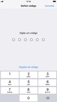 Apple iPhone 7 Plus - iOS 12 - Segurança - Como ativar o código de bloqueio do ecrã -  5