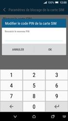 HTC One A9 - Sécuriser votre mobile - Personnaliser le code PIN de votre carte SIM - Étape 9