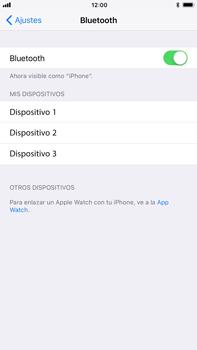 Apple iPhone 8 Plus - Bluetooth - Conectar dispositivos a través de Bluetooth - Paso 5