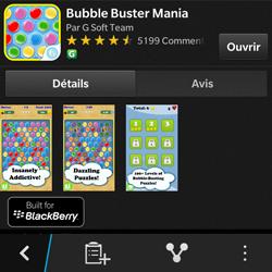 BlackBerry Q10 - Applications - Télécharger une application - Étape 21