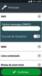 Doro 8035 - SMS - Configuration manuelle - Étape 9