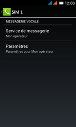 Alcatel OT-4033X Pop C3 - Messagerie vocale - configuration manuelle - Étape 10