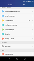 Huawei Y6 - Device - Reset to factory settings - Step 4