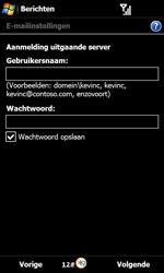Samsung B7610 Omnia Qwerty - E-mail - Handmatig instellen - Stap 13