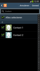 Samsung Galaxy S4 VE 4G (GT-i9515) - Contacten en data - Contacten kopiëren van toestel naar SIM - Stap 8