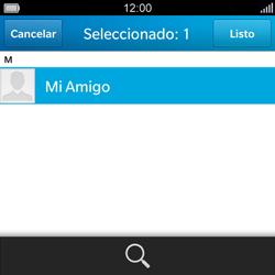 BlackBerry Q5 - Mensajería - Escribir y enviar un mensaje multimedia - Paso 7