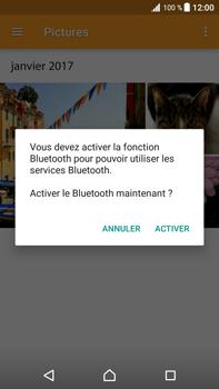 Sony Xperia XZ Premium - Photos, vidéos, musique - Envoyer une photo via Bluetooth - Étape 14