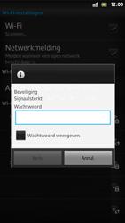 Sony LT26i Xperia S - Wifi - handmatig instellen - Stap 8