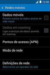 Samsung Galaxy Young II - Internet no telemóvel - Como ativar os dados móveis -  6