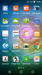 Acer Liquid Z330 - Internet - Hoe te internetten - Stap 2