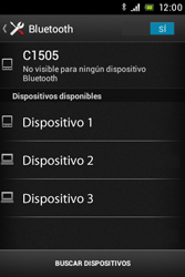Sony Xperia E - Bluetooth - Conectar dispositivos a través de Bluetooth - Paso 6