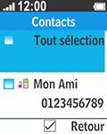 Bouygues Telecom Bc 211 - Contact, Appels, SMS/MMS - Envoyer un SMS - Étape 9