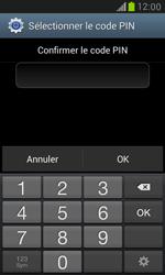 Samsung Galaxy S3 Mini - Sécuriser votre mobile - Activer le code de verrouillage - Étape 10