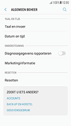 Samsung Galaxy A3 (2016) - Android Nougat - Toestel reset - terugzetten naar fabrieksinstellingen - Stap 5