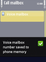 Nokia N86 - Voicemail - Manual configuration - Step 7