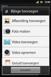 Sony ST27i Xperia Go - MMS - afbeeldingen verzenden - Stap 11