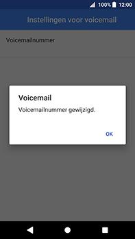 Sony Xperia XA2 Ultra - Voicemail - handmatig instellen - Stap 12