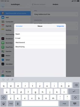 Apple ipad-pro-10-5-inch-ios-12 - E-mail - Account instellen (POP3 zonder SMTP-verificatie) - Stap 9