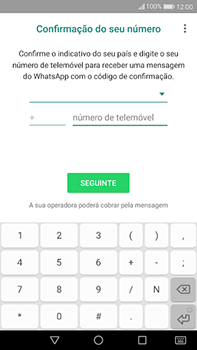 Huawei Mate 9 - Aplicações - Como configurar o WhatsApp -  9