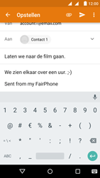 Fairphone Fairphone 2 - E-mail - Bericht met attachment versturen - Stap 10