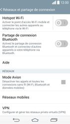 LG D855 G3 - Internet et connexion - Désactiver la connexion Internet - Étape 5