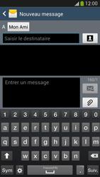 Samsung I9505 Galaxy S IV LTE - MMS - envoi d'images - Étape 8