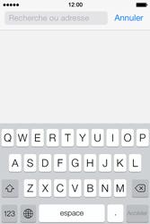 Apple iPhone 4 S iOS 7 - Internet - Navigation sur Internet - Étape 3