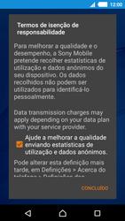 Sony Xperia M4 Aqua - Primeiros passos - Como ligar o telemóvel pela primeira vez -  14