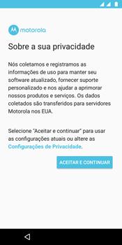 Motorola Moto G6 Plus - Primeiros passos - Como ativar seu aparelho - Etapa 10