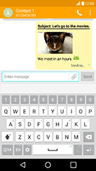 LG K10 4G K420 - Mms - Sending a picture message - Step 19