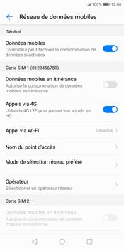 Huawei P Smart - Réseau - Sélection manuelle du réseau - Étape 6