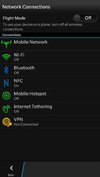 BlackBerry Z30 - Network - Usage across the border - Step 5