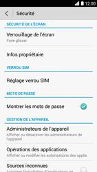 Bouygues Telecom Ultym 5 - Sécuriser votre mobile - Activer le code de verrouillage - Étape 5