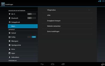 Acer Iconia Tab A3 - Internet - Handmatig instellen - Stap 5