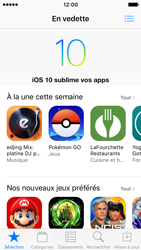 Apple iPhone SE - iOS 10 - iOS features - Supprimer et restaurer les applications iOS par défaut - Étape 7