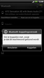 HTC Z715e Sensation XE met OS 4 ICS - Bluetooth - Headset, carkit verbinding - Stap 8