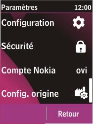 Nokia C2-03 - Internet - configuration manuelle - Étape 5