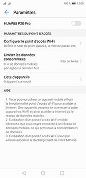 Huawei P20 pro - Internet et connexion - Partager votre connexion en Wi-Fi - Étape 9