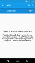 Sony Xperia Z3 Plus - Wi-Fi - Como ligar a uma rede Wi-Fi -  5
