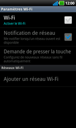 LG P970 Optimus Black - Wifi - configuration manuelle - Étape 5