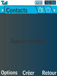 Samsung C3590 - Contact, Appels, SMS/MMS - Ajouter un contact - Étape 4