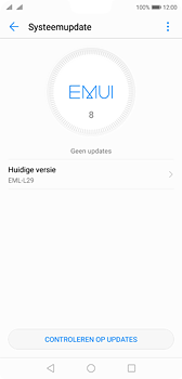 Huawei P20 - Software update - update installeren zonder PC - Stap 6