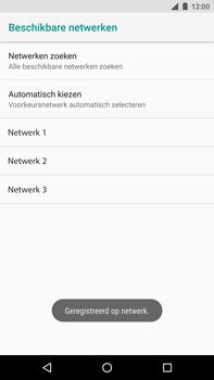 Huawei Nexus 6P - Android Oreo - Netwerk - Handmatig een netwerk selecteren - Stap 11