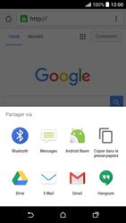 HTC Desire 530 - Internet et connexion - Naviguer sur internet - Étape 19