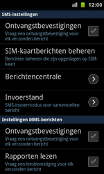 Samsung I9100 Galaxy S II - SMS - Handmatig instellen - Stap 4