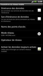 HTC Z715e Sensation XE - Réseau - Utilisation à l