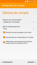 Alcatel Shine Lite - E-mail - Configuration manuelle - Étape 16